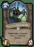 haunted creeper - Hearthstone Curse of Naxxramas Card