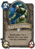 Mad Scientist - Hearthstone: Curse of Naxxramas Card