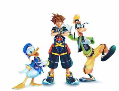 Sora Donald Goofy Kingdom Hearts III