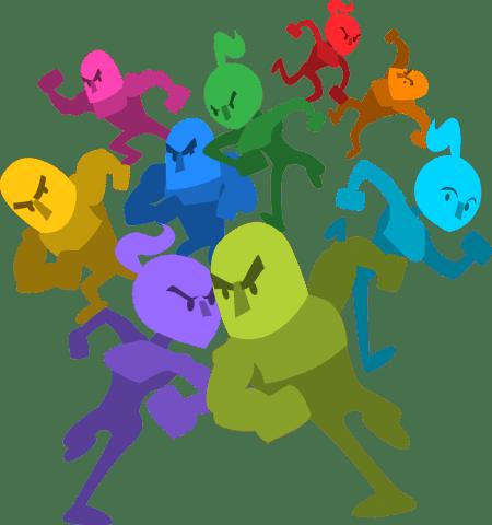 Runbow Character Art