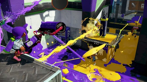 Wii U Splatoon screenshot