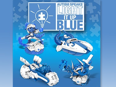 Skylanders Special Characters Light It Up Blue