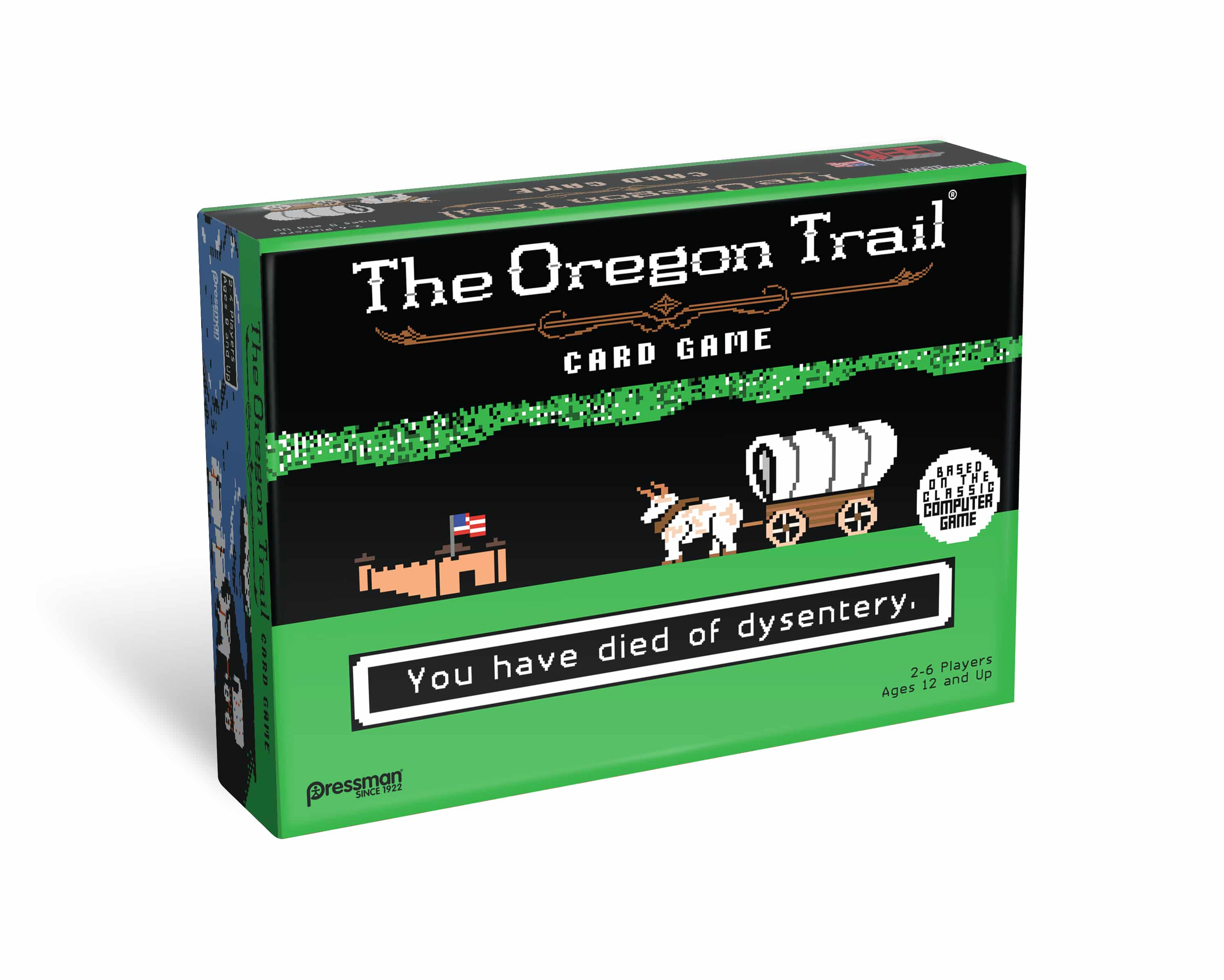 Family Board Game Review The Oregon Trail