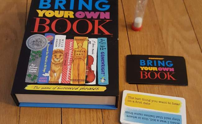 Family Board Game Review Bring Your Own Book Engaged