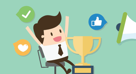 Performance Reviews With Social Recognition Improves Engagement