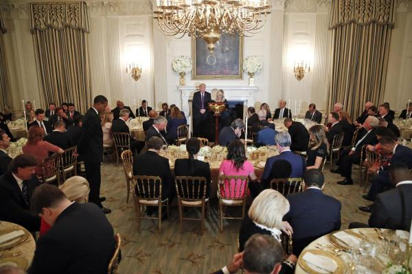 Reflections on the Church of God General Overseer attending the White House Dinner