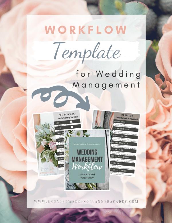 Wedding Management Workflow Template