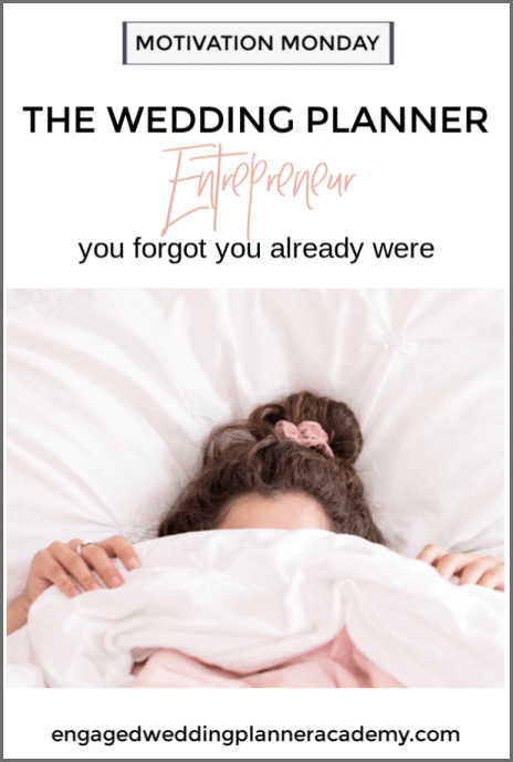 Being a wedding planner entrepreneur is hard work and self-doubt often creeps in. I'm giving you some ways to overcome that self-doubt and keep pursuing your dreams. become a wedding planner tips, confronting the uncomfortable, Event Planner, how to become a wedding planner, Wedding Business, Wedding career, wedding planner business, wedding planner contract, Wedding Planner Contracts, wedding planner education, Wedding Planner Entrepreneur, Wedding Planner products, wedding planner tools