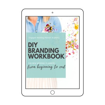 Branding Workbook for wedding planners