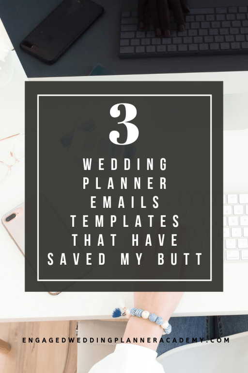 In this post I'm sharing three essential wedding planner emails that will help you communicate with your client. | becoming a wedding planner, Tips for wedding planners, wedding planner business, wedding planner education, Wedding Planner Emails, Wedding Planner Emails template, wedding planner free printable, wedding planner tips, emails for wedding planner