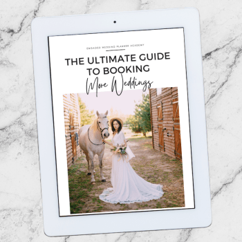 The Ultimate Guide to Booking More Weddings