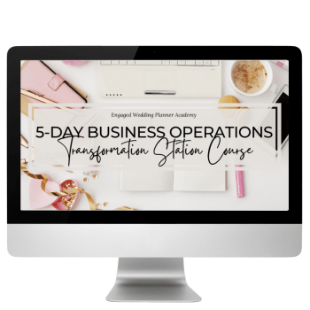 5-Day Business Operations Transformation Station Course