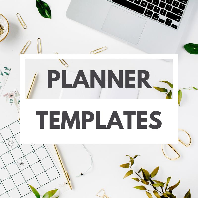 wedding planner templates