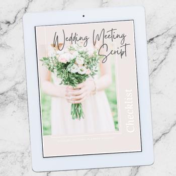 Wedding Meeting Script Checklist
