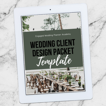 Wedding Client Design Packet