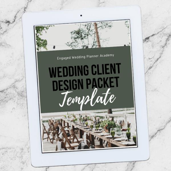 Wedding Client Design Packet