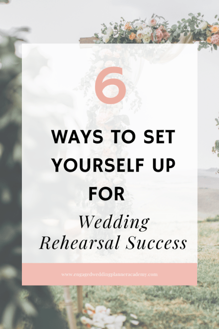One of the best ways to guarantee wedding rehearsal success is creating an action plan to go by. Here are 6 helpful tips to making that happen. | how to do a wedding ceremony rehearsal, How to Run a Wedding Ceremony Rehearsal, wedding ceremony rehearsal template, wedding rehearsal and ceremony, wedding rehearsal checklist, wedding rehearsal guide, Wedding Rehearsal Success