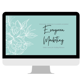 Wedding Planner Evergreen Marketing