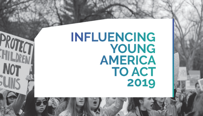 influencing young americans to act 2019