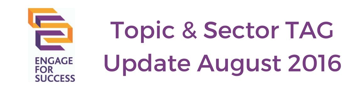Topic & Sector TAG Update August 2016