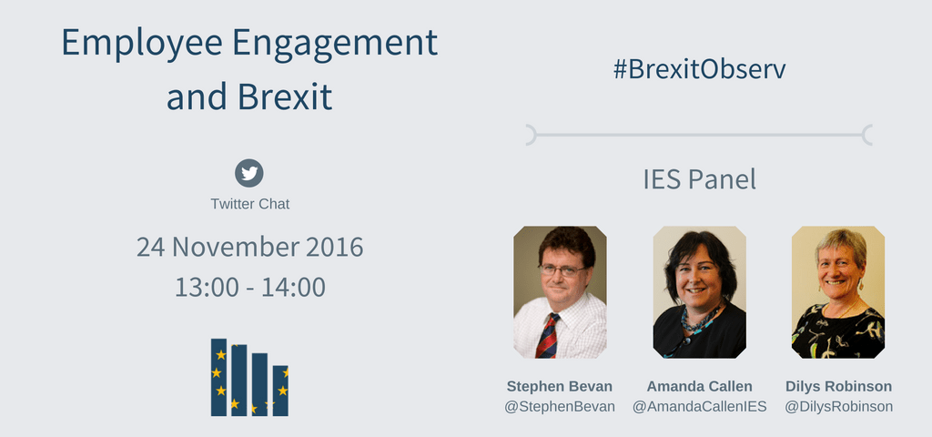 Brexit Twitter: Employee Engagement And Brexit