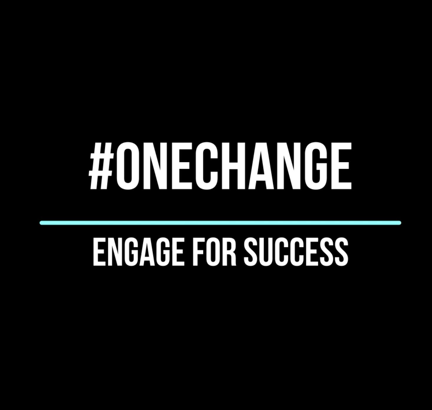 #onechange