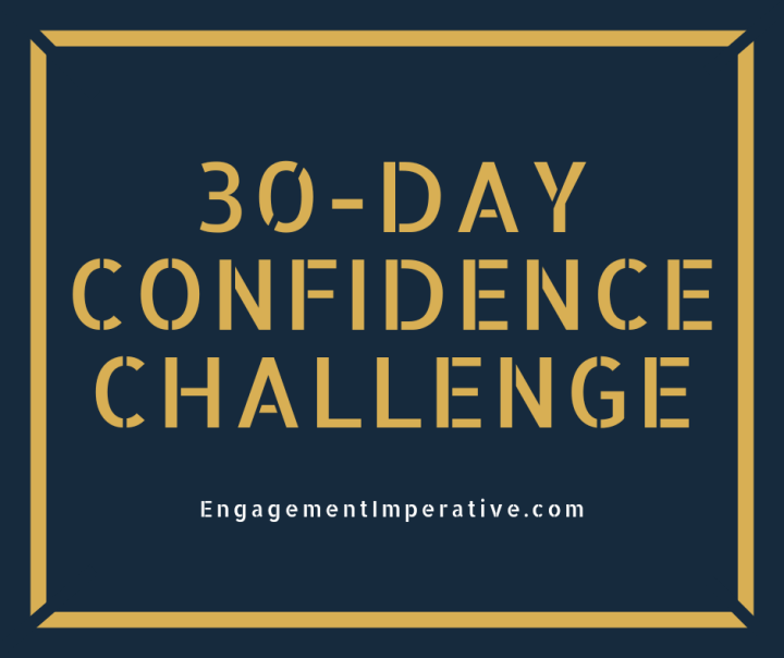 An Invite: 30-Day Confidence Challenge