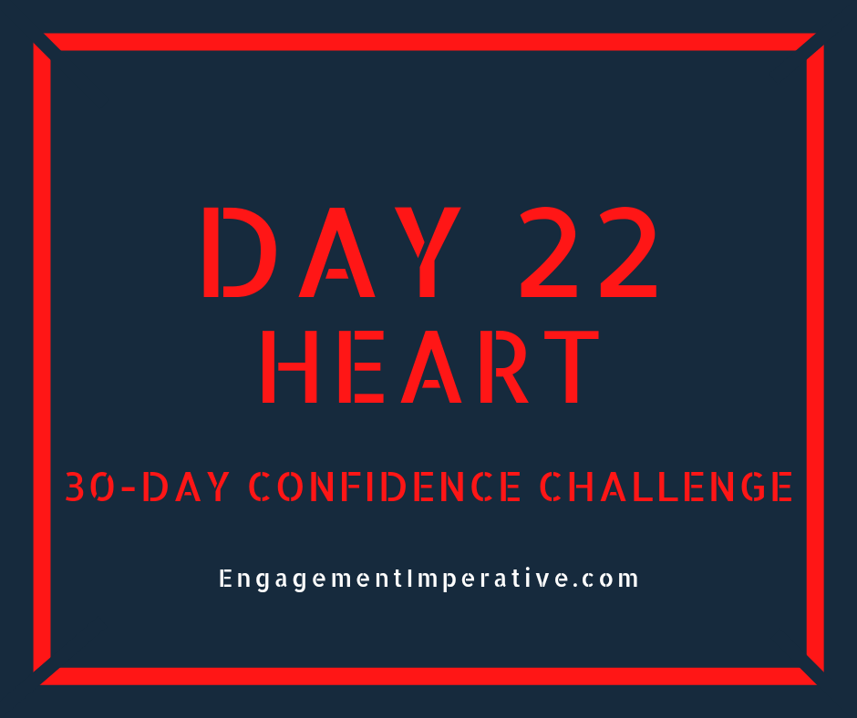 Day 22: Heart-to-Heart With Your Leader