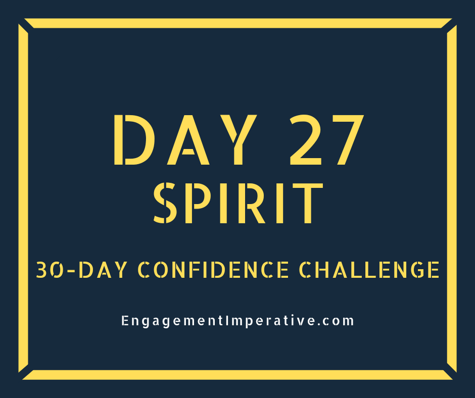 Day 27: Happiness and Confidence