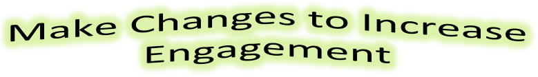 Make Changes to Increase Engagement after an employee engagement survey