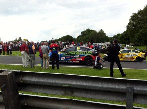 Plato arrives at the back, as Dave Newsham sidles past.