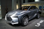 Hmm. Challenging is probably the kindest word to describe this Lexus crossover concept.