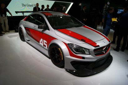 Merc 2.0 turbo touring car concept could become a reality if demand is there. BTCC contender in 2014?!