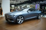 Achingly beautiful, the Coupe Concept will set the path for future Volvo design. Hopefully a new C70 is in there.