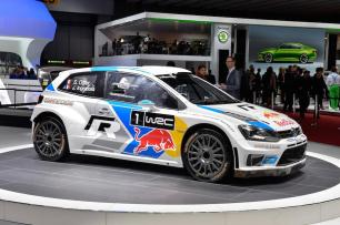 Last year's WRC championship winning car