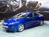 The revised Chevrolet Volt made its debut