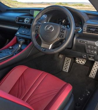 2015 Lexus RC F Interior 003