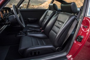 Electrically-adjustable leather Recaros for North Carolina