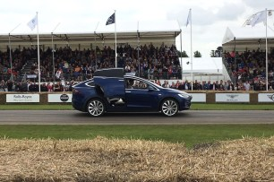 2016 Goodwood FoS Tesla Model X