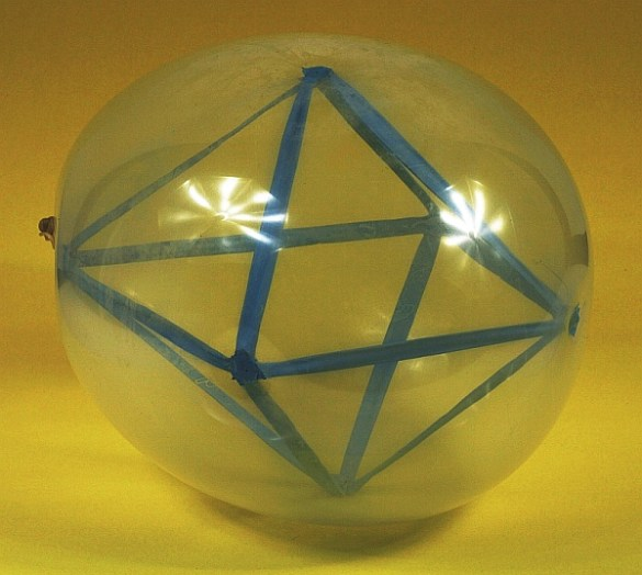 Octahedron in a Balloon