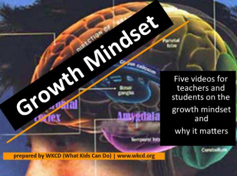 Growth Mindset from WhatKidsCanDo.org