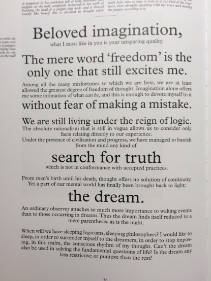 Manifesto: Surrealism / Spatialism Julian Rosefeldt