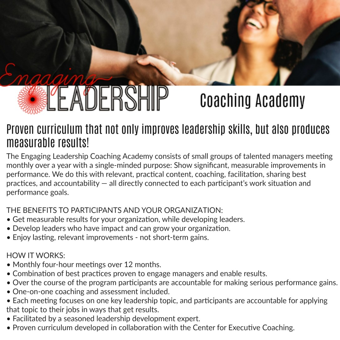 Coaching Academy Flyer