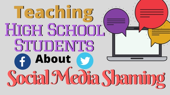 Lesson idea on using NPR podcast to help teach students about social media shaming. Based on the Jon Ronson's Ted Talk about the downfall of Justine Sacco and other infamous social media stories.