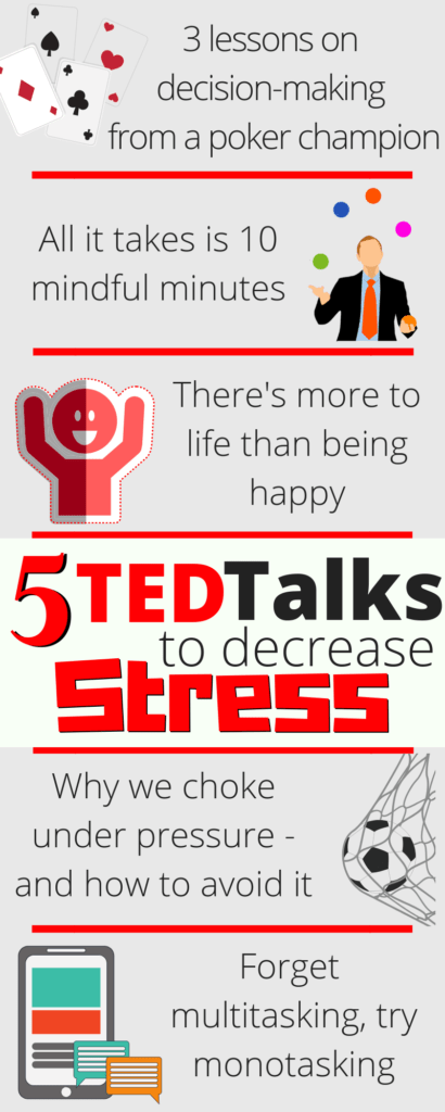Ted Talks To Decrease Stress And Increase Self Awareness