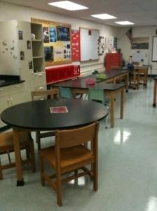 biology classroom redesign
