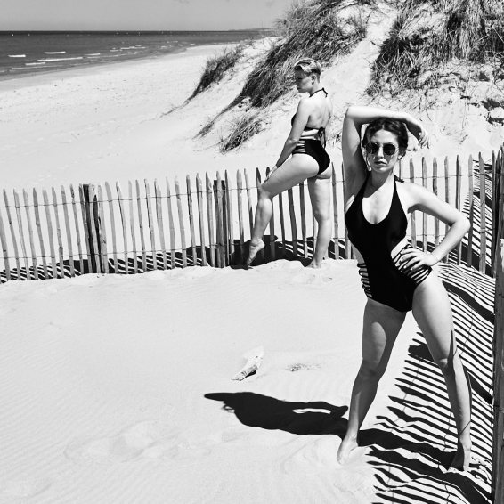 BOou and Alexandra Frances McCue, Merlimont Plage