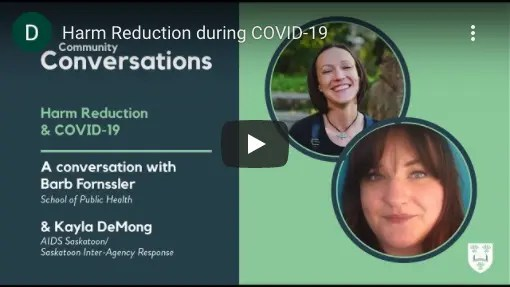 Harm Reduction & COVID-19