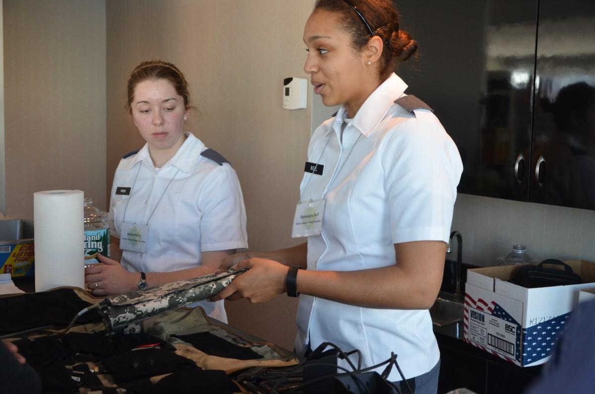 USMA Cadets Presenting