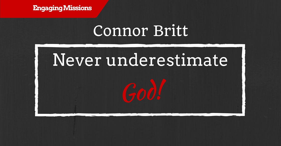 Aching for God to be Known in the World, with Connor Britt